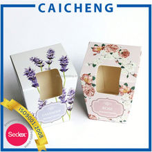 popular cosmetic box packing