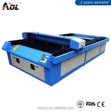 AOL 1325 CO2 cnc plastic,paper,mdf,wood,acrylic,leather,glass laser cutting and engraving machine price for sale