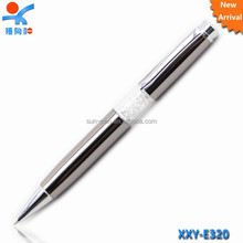 new design fancy crystal metal ballpoint pen
