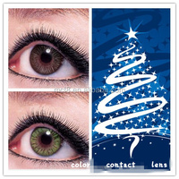 wholesale colored contact lens /tri color contact lens/color contact lens contact lens power lens