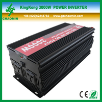 Frequency 50hz/60hz DC12V AC220V 3000W solar power inverter with battery charger