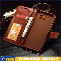 Flip case for samsung galaxy s6 edge plus luxury leather phone cases