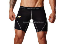 Nylon/Lycra Men's sublimation Compression Workout Shorts,wholesale compression shorts /mens sports shorts with high quality