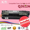 Compatible New and Remanufactured toner cartridge hot models 12A 35A 36A 78A 85A 05A use for HP printer with OEM color OPC