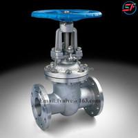 High pressure flange type gate valve