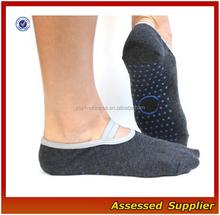 Yoga & Pilates Socks- Non Slip Comfort with Full Grip Bottom-Athletic Cotton Fitted Socks Perfect for Women & Men --ZP116
