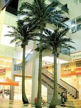 2015 popular design factory artificial trees, plastic coconut trees, fake coconut tree