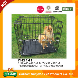 Wholesale Wire Folding Metal Pet Crate Dog