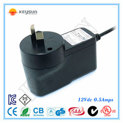 Wall mounted 12V 0.5A AC/DC Adapter/ 6W Switching power supply /Led drive