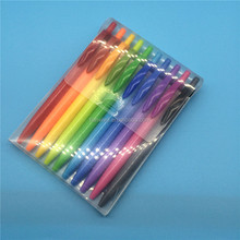 Ballpoint Pen Type and Plastic Material stick ball pen set with box
