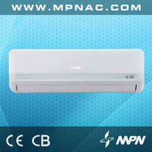 1 ton 220v 50hz R410A DC Inverter cooling and heating inverter air conditioner