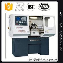 Ck6136 cama plana económico cnc machine tool / segunda mano máquina del torno