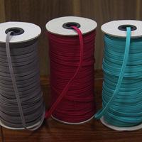 custom color 1/8'' skinny elastic 3mm elastic in stock
