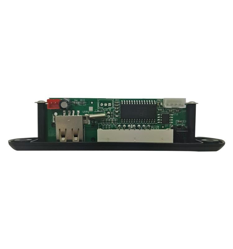 MP3/FM/USB/TF/AUX Audio USB Décodeur Mp3 Circuit Module, Vocal Numérique Lecteur Mp3 haut-parleur Radio FM pcb Conseil Pour Voiture