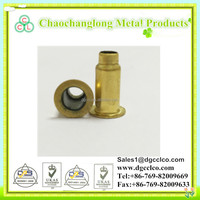 Round brass/copper hollow and semi-hollow tubular rivet