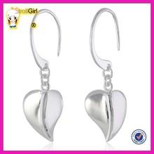 Alibaba website wholesale beautiful leaves earrings big leaves charm earrings for girl