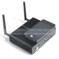 Fanless Mini PC Palm Computer Slim Nettop With Baytrail Intel Pentium Quad Core N3510 4G Ram 32G SSD SoC Design TV Box VGA