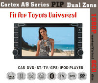 7inch HD 1080P BT TV GPS IPOD Fit for TOYOTA UNVIERSAL CAMRY COROLLA RAV4 PRADO car dvd player with gps