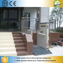 CE / ISO 9001 Shandong famous brand TRUE WIN wheelchair lift elevator
