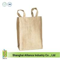 Plain wholesale jute bags cheap ALD524