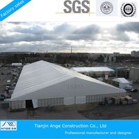 New design prefabricated steel structure hotel building tent for sale