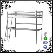 School furniture double tier metal/ steel student bunk beds