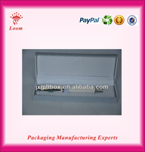 Blue luxury paper pen box acrylic pen and pencil display box