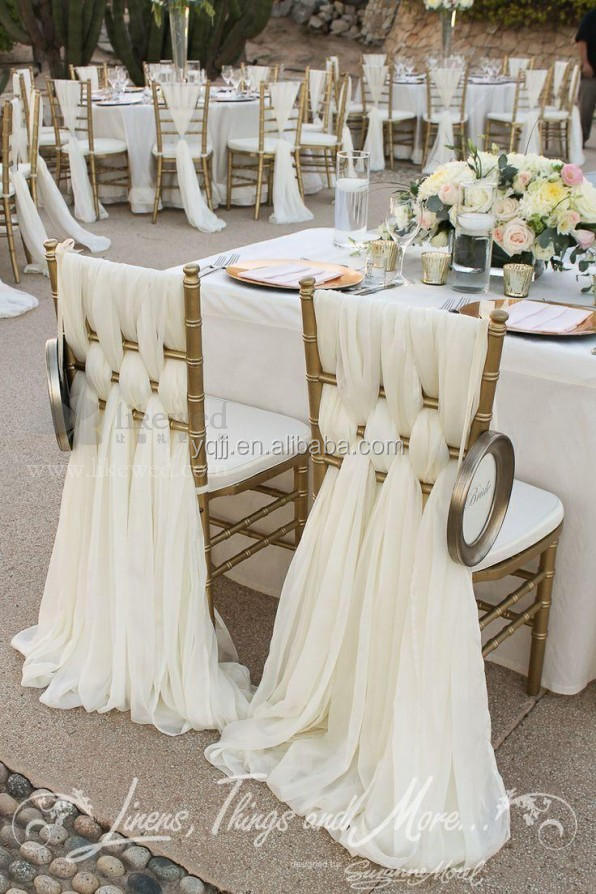 Wedding Decoration Chair Covers And Table Covers For