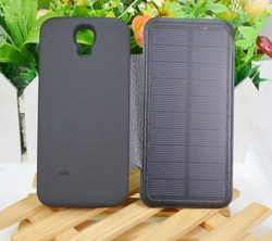 Foldable solar bag case portable solar bag mobile charger for galaxy s4