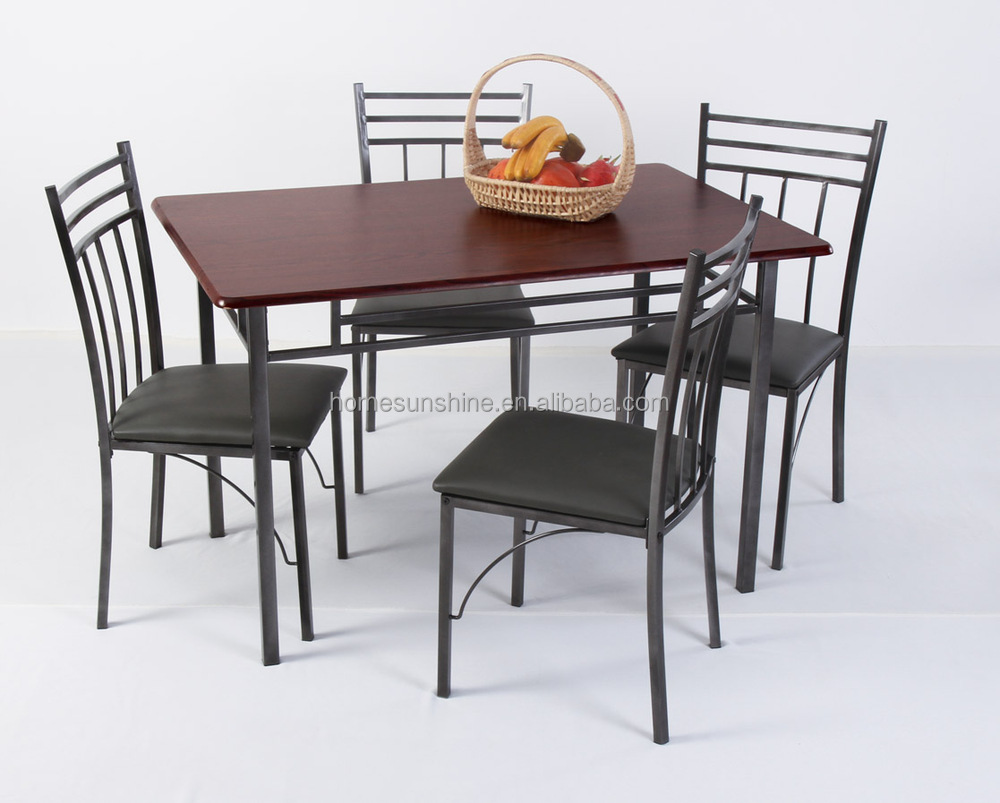 Stainless Steel Dining Table Set - Buy Wood Dining Table Sets ...