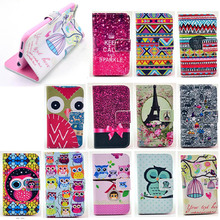 For iPhone 6 case colorful cute design stand leather mobile phone case