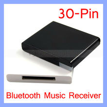 Wireless Bluetooth Music Receiver Audio Adapter for iPhone iPod 30-Pin Dock Speaker