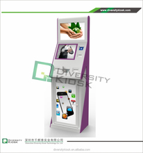 self-service kiosk terminals card dispenser kiosk for auto parking management system