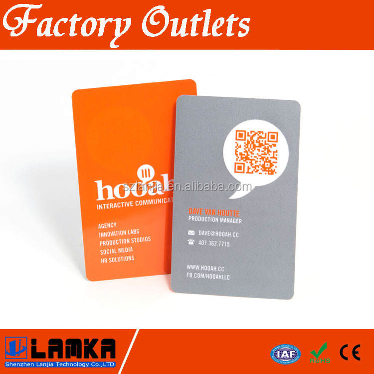 Printed Cheap Plastic Business Cards Buy Plastic