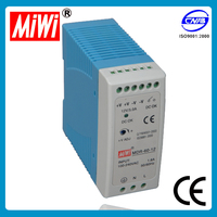 MDR-60-5 single phase din rail mounted power supply 60w 5v