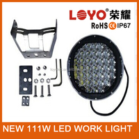 Newest Off Road Light For 4x4 Car Accessories,111W Super Bright Work Light LED,Headlight LED Work Light