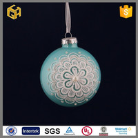 Hot sell 2015 new products christmas transparent ball shot glass souvenir