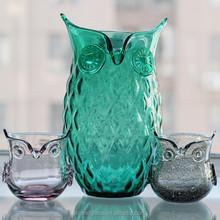 Wholesale elegant colored cylinder glass vase for home decoration