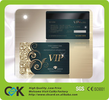 VIP/Business Cards Gold Foil Embossed with Printing