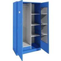 Living Room Furniture,Steel Blue Color Metal Locker,Bedroom Wardrobe Design Clothes Cabinet