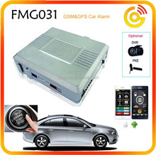 High quality automative security 2 way GSM car alarm with GPS --FMG031