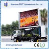 2015 HOT SALE! p16 outdoor trailer large mobile truck led tv screen