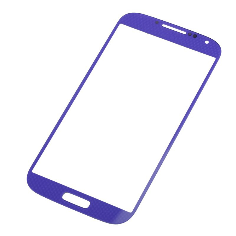 Wholesale-Purple-New-Front-Glass-Lens-Screen-Replacement-for-Samsung-Galaxy-IV-S4-i9500-CPAM-Free