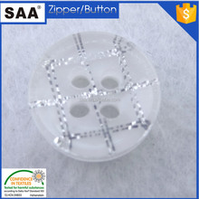 4 hole polyester plastic resin button