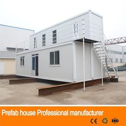 single double galvanized mobile homes prefabricated house and villas for sale