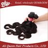 Ali queen hair products wholesale human hair ,cheap brazilian hair weave,body wave virgin hair brazilian human hair extension