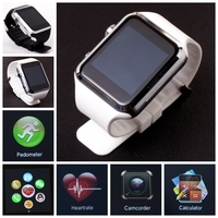2015 new design product Bluetooth smart watch with heart rate monitor android smart watch phone