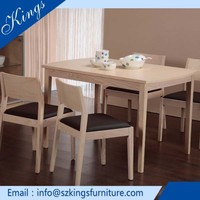 Alibaba High Grade Table Solid Wood Folding Table & Chair Set