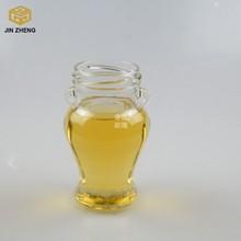 custom unique small 200ml glass jars with lids for honey/ wedding favors honey jars