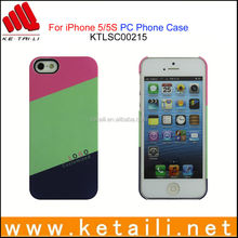 For iPhone 5S OEM Matte Plastic Mobile Phone Case Factory